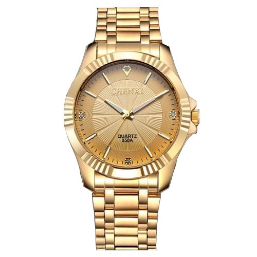 Gold Panther Watch