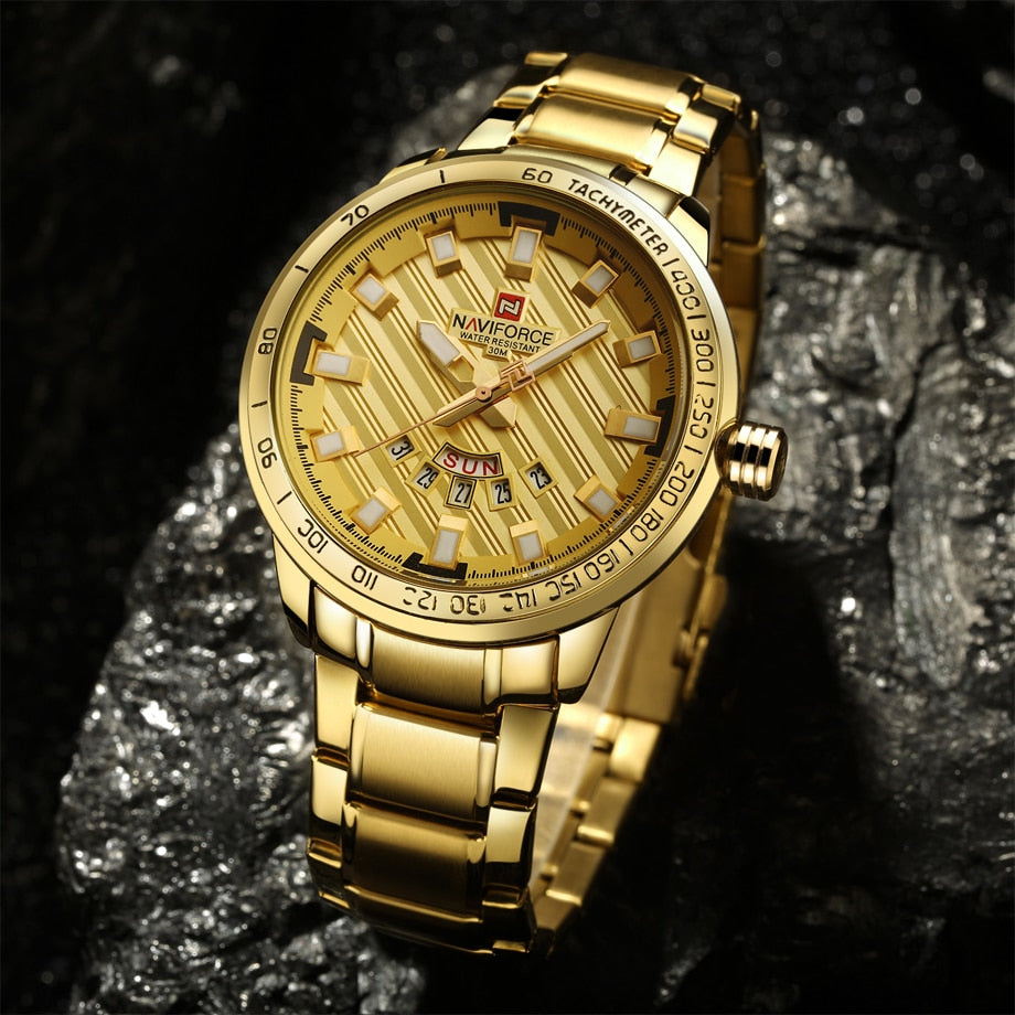 Temptation Gold Stainless Steel Watch