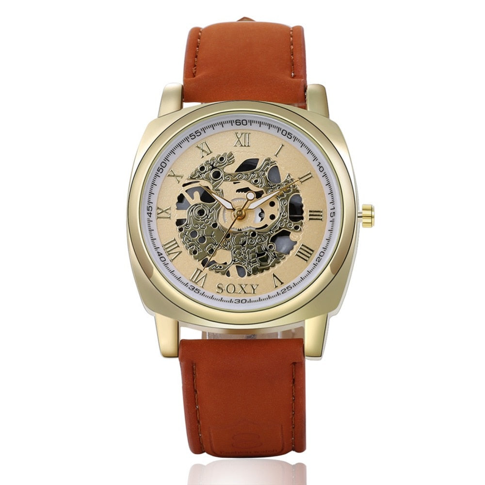 Hammer Leather Watch