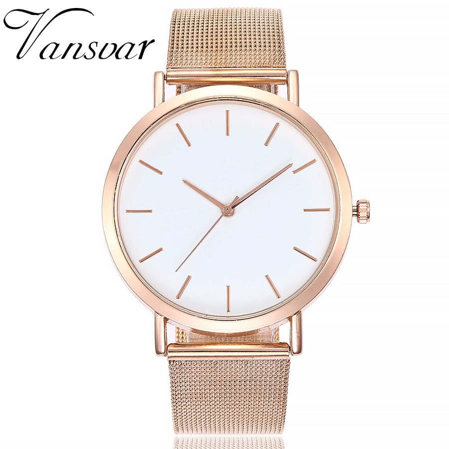 Jumper Stainless Steel Mesh Watch