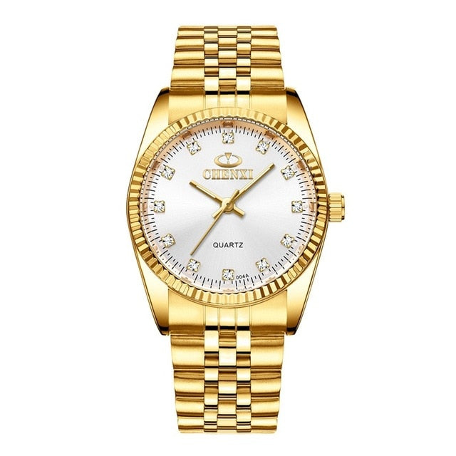 Swordsman Gold Watch