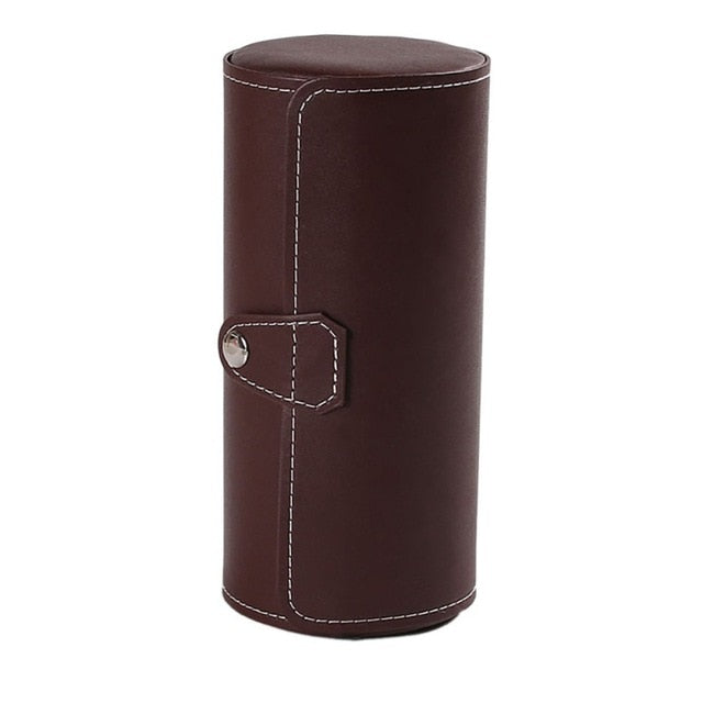 Watchman 3 Slot Leather Box