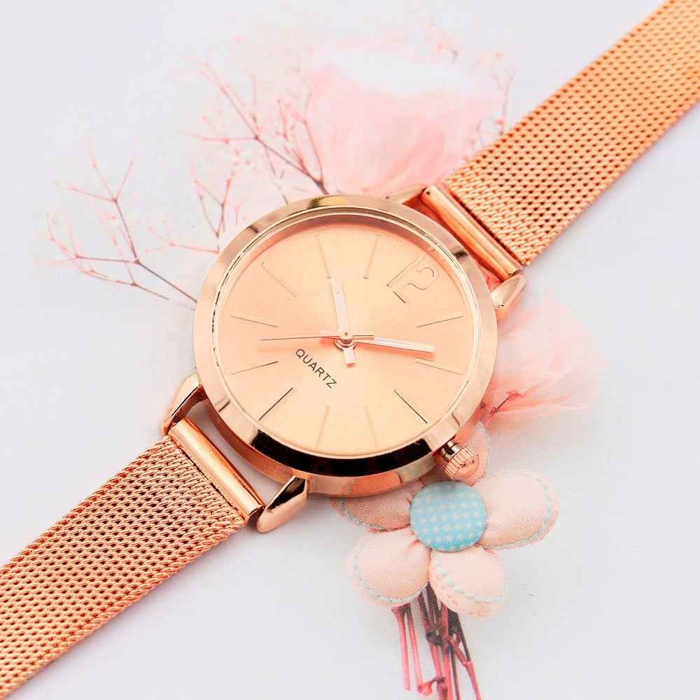 Flux Mesh Strap Watch