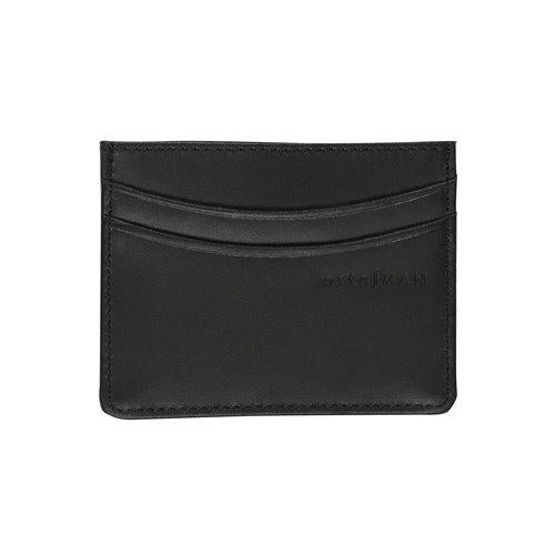 Black Leather Cardholder Wallets ortc | MAN