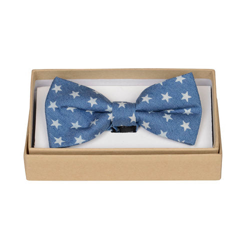 Chambray Star Bow
