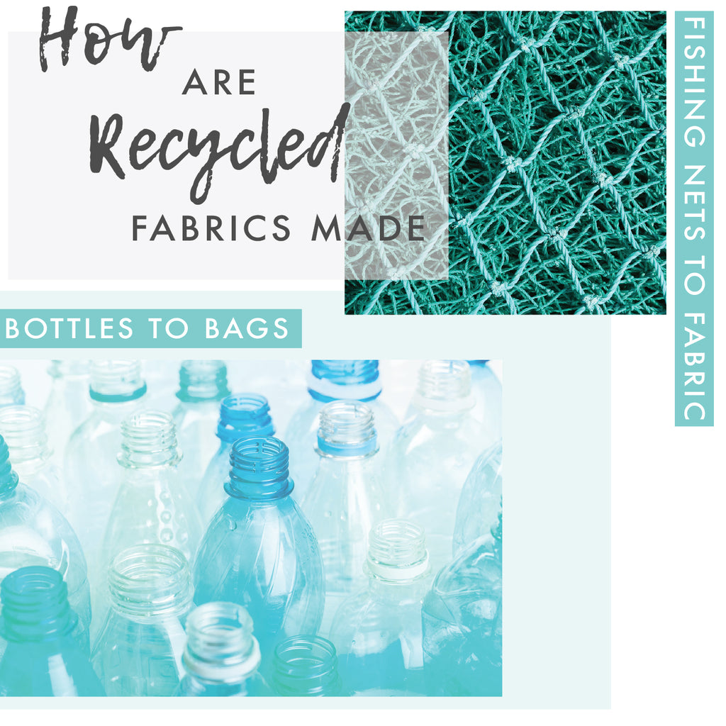 How is recycled fabric made?
