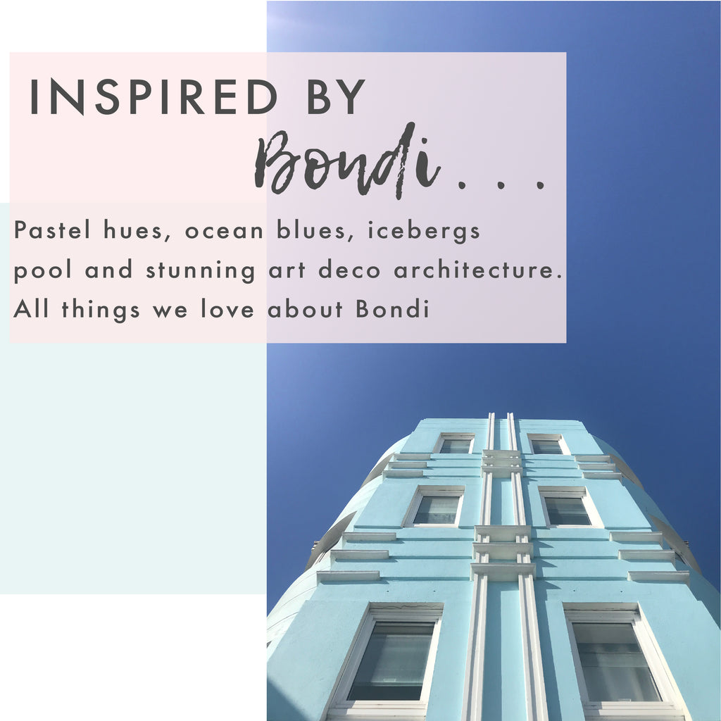 Inspired by Bondi…