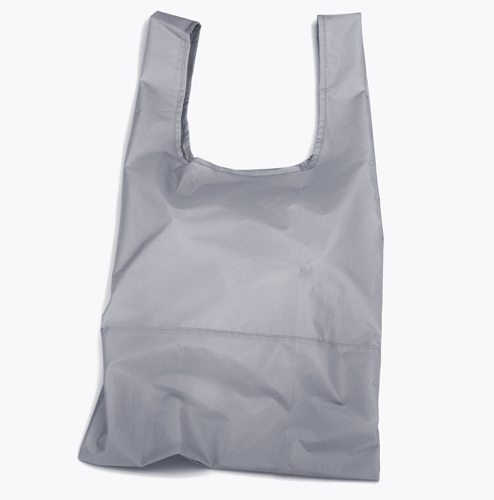 Recycled Pouch and Shopping Bags/ Zip Me Up Grey Bundle