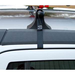 Universal roof cross bars.