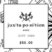 JUXTAPOSITION GIFT CARD