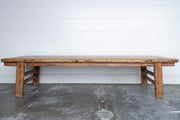 "COFFEE TABLE 83.5"" X 29"""