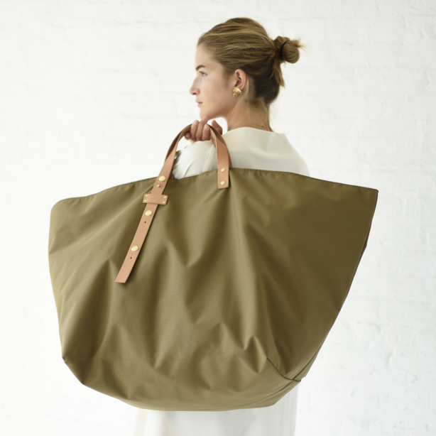 The Weekender Tote in Acorn