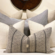 GREY VINTAGE OBLONG