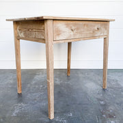 1900s FRENCH OAK TABLE
