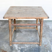 RUSTIC SQUARE TABLE
