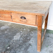 VINTAGE FRENCH WORK TABLE