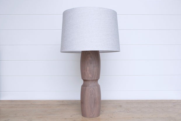 SOLID WALNUT LAMP