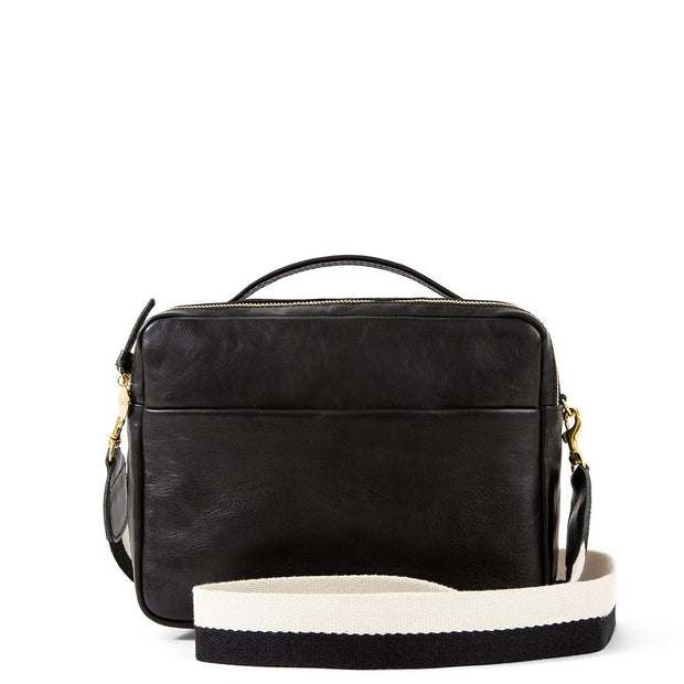 Crossbody Strap Black & White