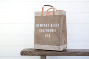 THE NEWPORT BEACH MARKET BAG