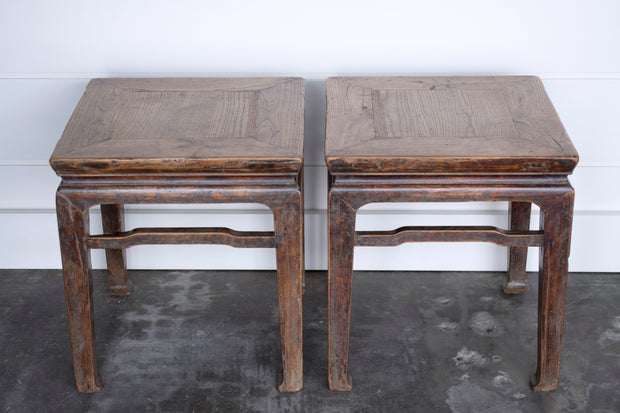 VINTAGE TABLE PAIR