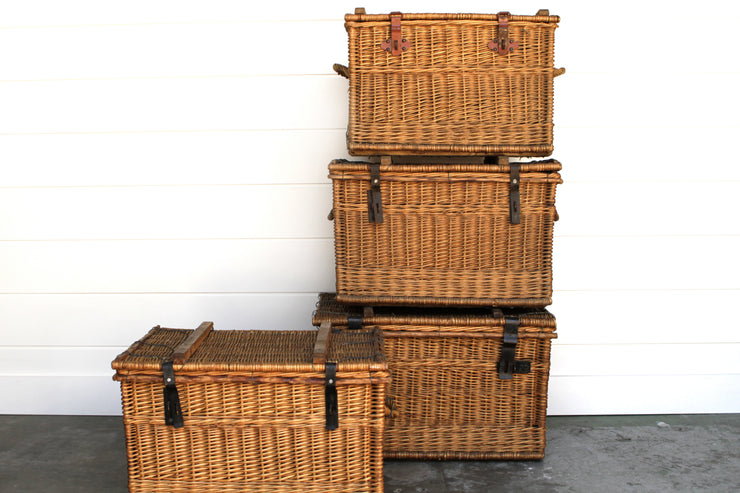 Vintage Trunk Baskets