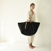 The Weekender Tote in Black