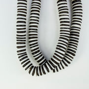 BLACK AND WHITE BAQUE BEADS