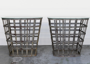 INDUSTRIAL BASKET SIDE TABLES