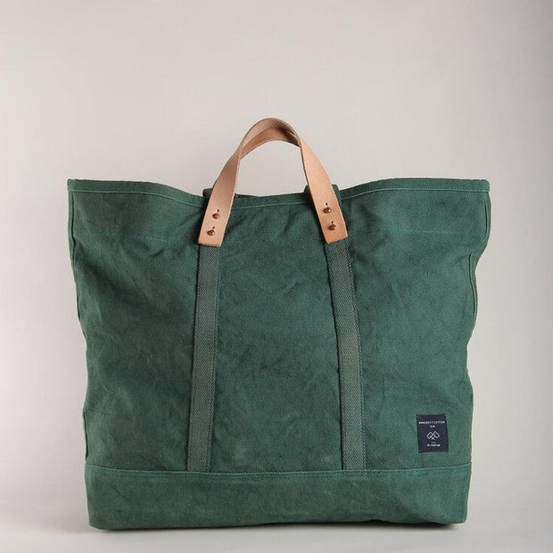 LARGE PINE CANVAS TOTE
