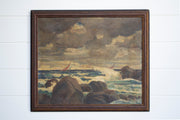 VINTAGE SEASCAPE PAINTING