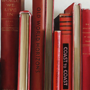 BOOK PAINTING GICLEE - RED