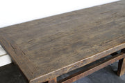 ANTIQUE PLANK COFFEE TABLE