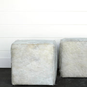 Pair of Hyde Cubed Ottomans