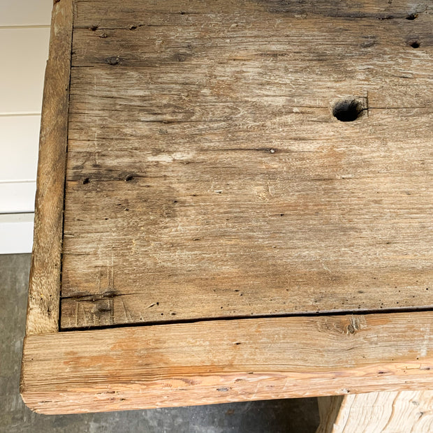 VINTAGE FRENCH WORK BENCH