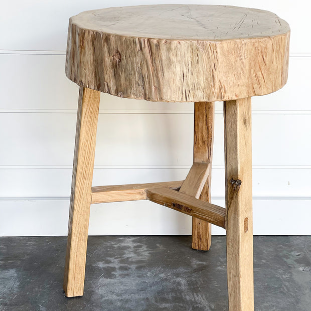 Natural Tree Stump Table