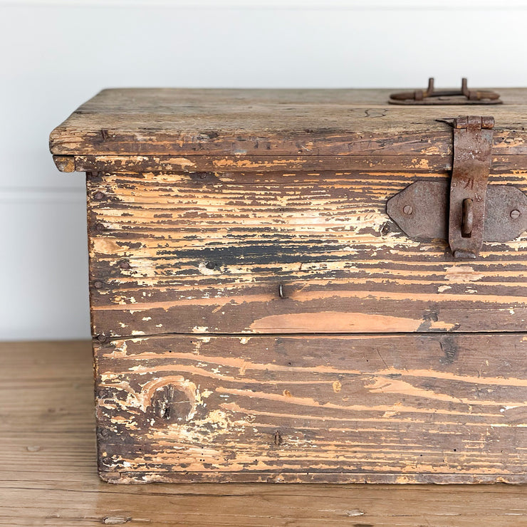 Wooden Storage Boxes with Latch