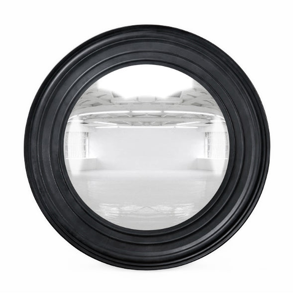 MATTE BLACK CONVEX MIRROR