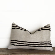 OBLONG HEMP RUG PILLOW