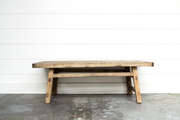 RECLAIMED OLD WOOD COFFEE TABLE