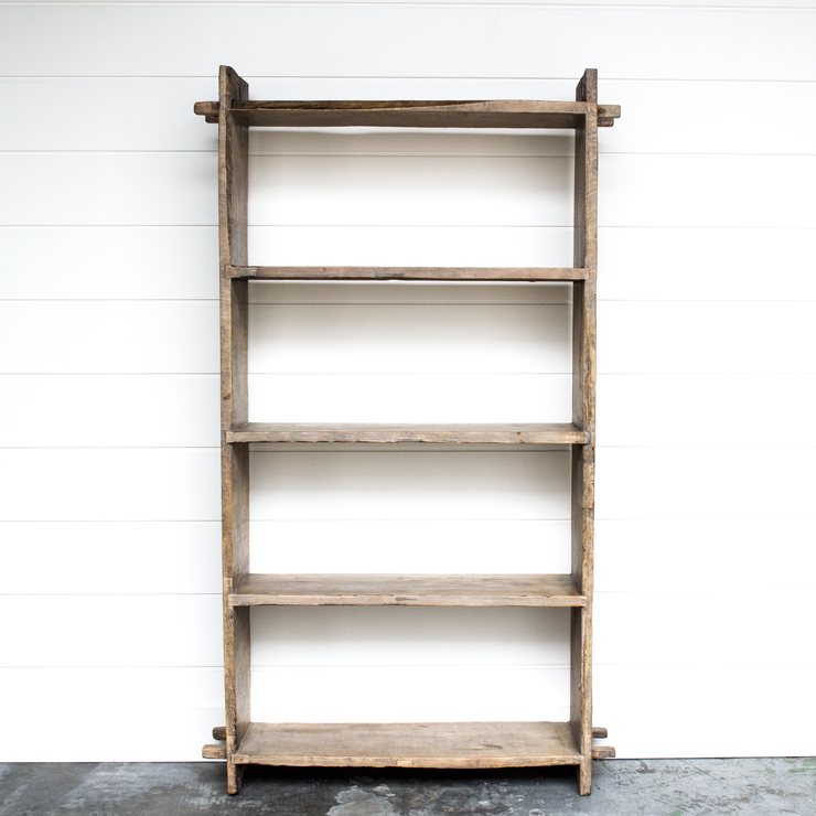 OLD ELM WOOD SHELVES