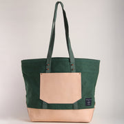 PINE CANVAS BUCKET TOTE