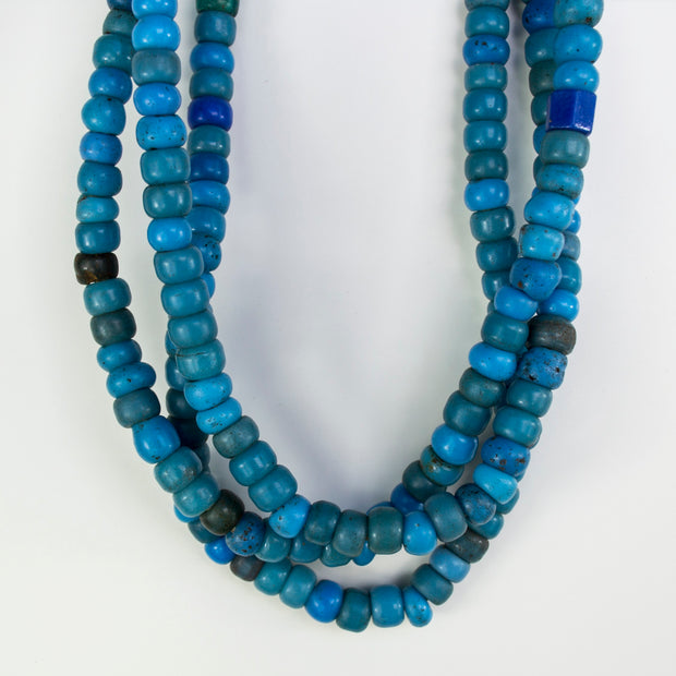 BLUE PADRE BEADS