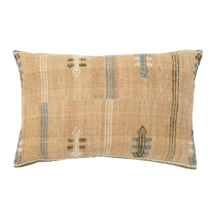 HAND LOOMED OBLONG PILLOW