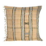HAND LOOMED FRINGE PILLOW
