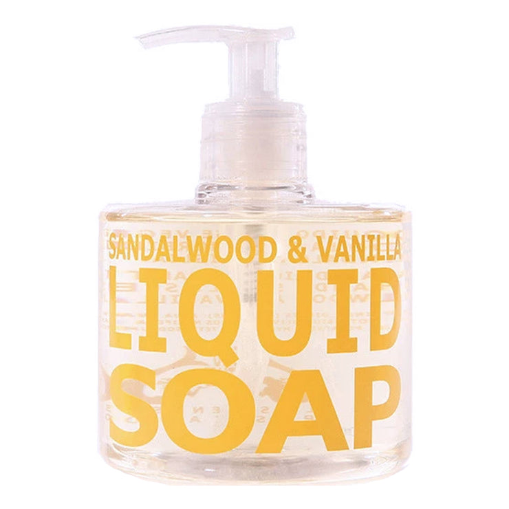 SANDALWOOD & VANILLA PUMP SOAP