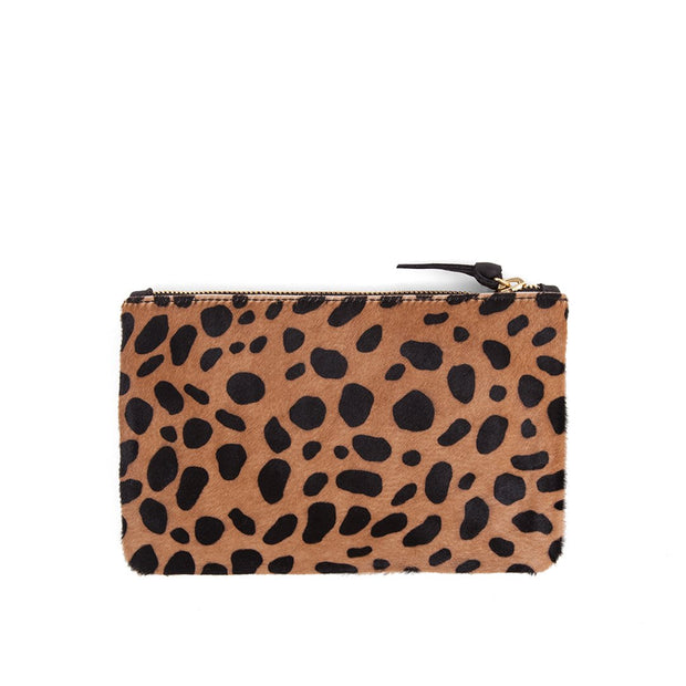 LEOPARD WALLET CLUTCH