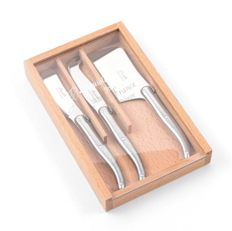 STAINLESS STEEL CHARCUTERIE SET