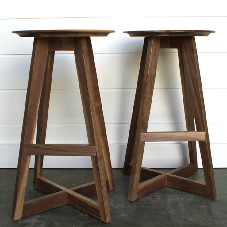 WALNUT BARSTOOLS