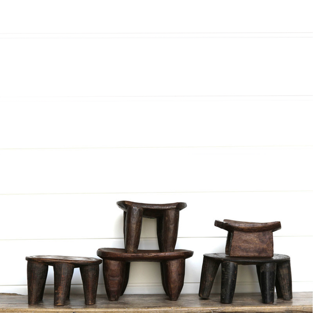 SMALL AFRICAN STOOLS