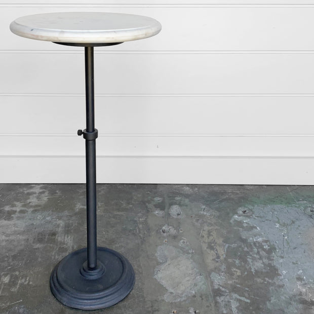 ADJUSTABLE MARBLE-TOP TABLE